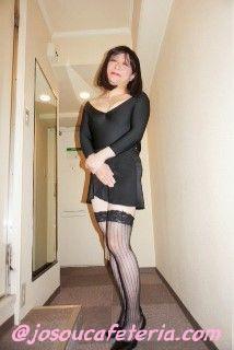 レオタード女装 篠崎ともみさん