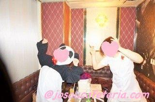 うわー!緊張!!初めての銀座レストランでお誕生会& かぶり物カラオケコース〜咲ちゃん その4