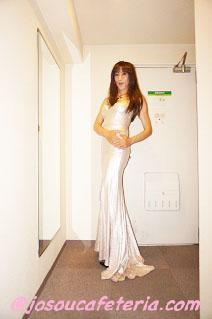 マーメイドドレス女装 篠田あゆみさん