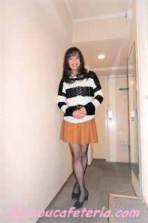 フェミニン系カジュアル女装 長野まさみちゃん