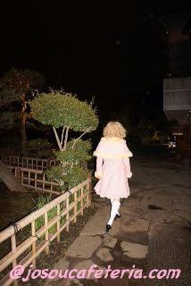 オータニ庭園お散歩&赤坂見附ウロウロそして初めてのBAR体験! 甘ロリ女装咲ちゃん その1