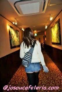 初めてのホテル内ウロウロ〜山下綾ちゃん