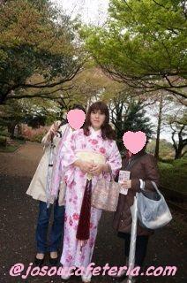 今シーズン最後のお花見 新宿御苑をウロウロ 姫華ちゃん編 その2