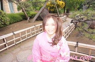 初めての振袖&日本庭園ウロウロ その2〜咲ちゃん編