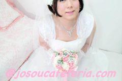 ウエディングドレス女装  ゆみちゃんからの投稿