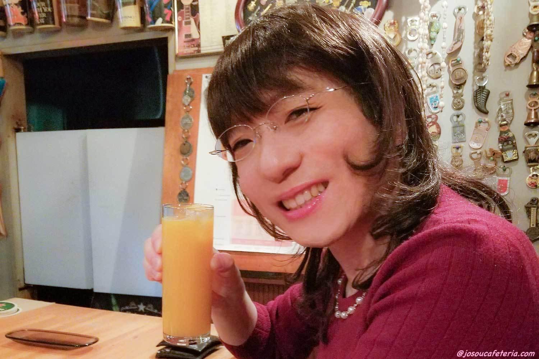 秘密のバーめざしてレッツ・ゴ~♪ フェミニン系OL女装 長谷川めぐみちゃん