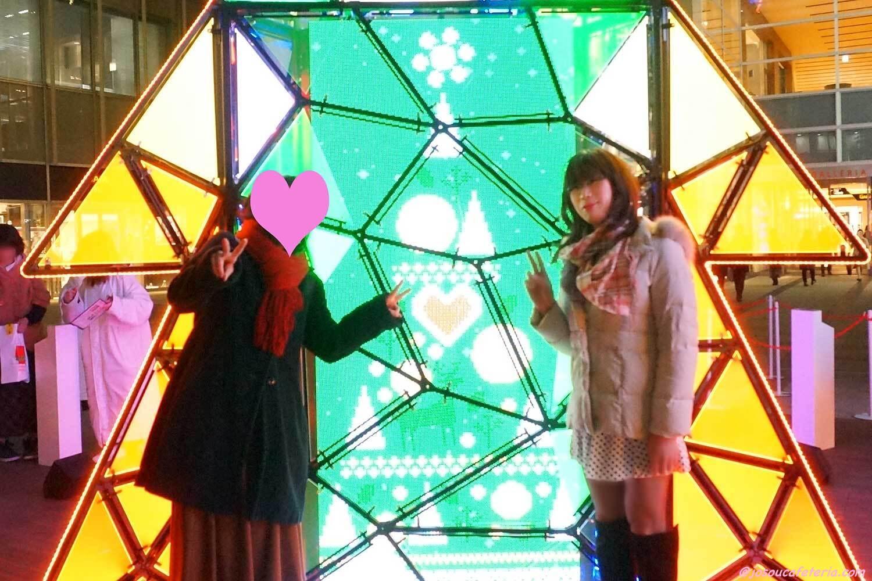 クリスマスムード漂うミッドタウンお散歩♪ newひとみちゃん編