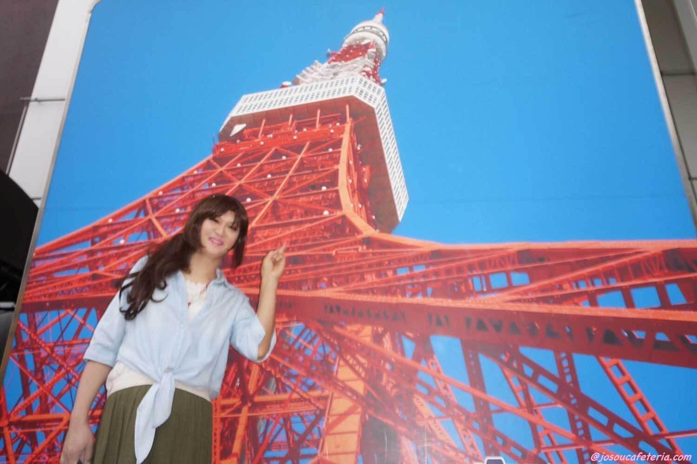 お昼の東京タワーへレッツ・ゴ~♪ まゆみさん編
